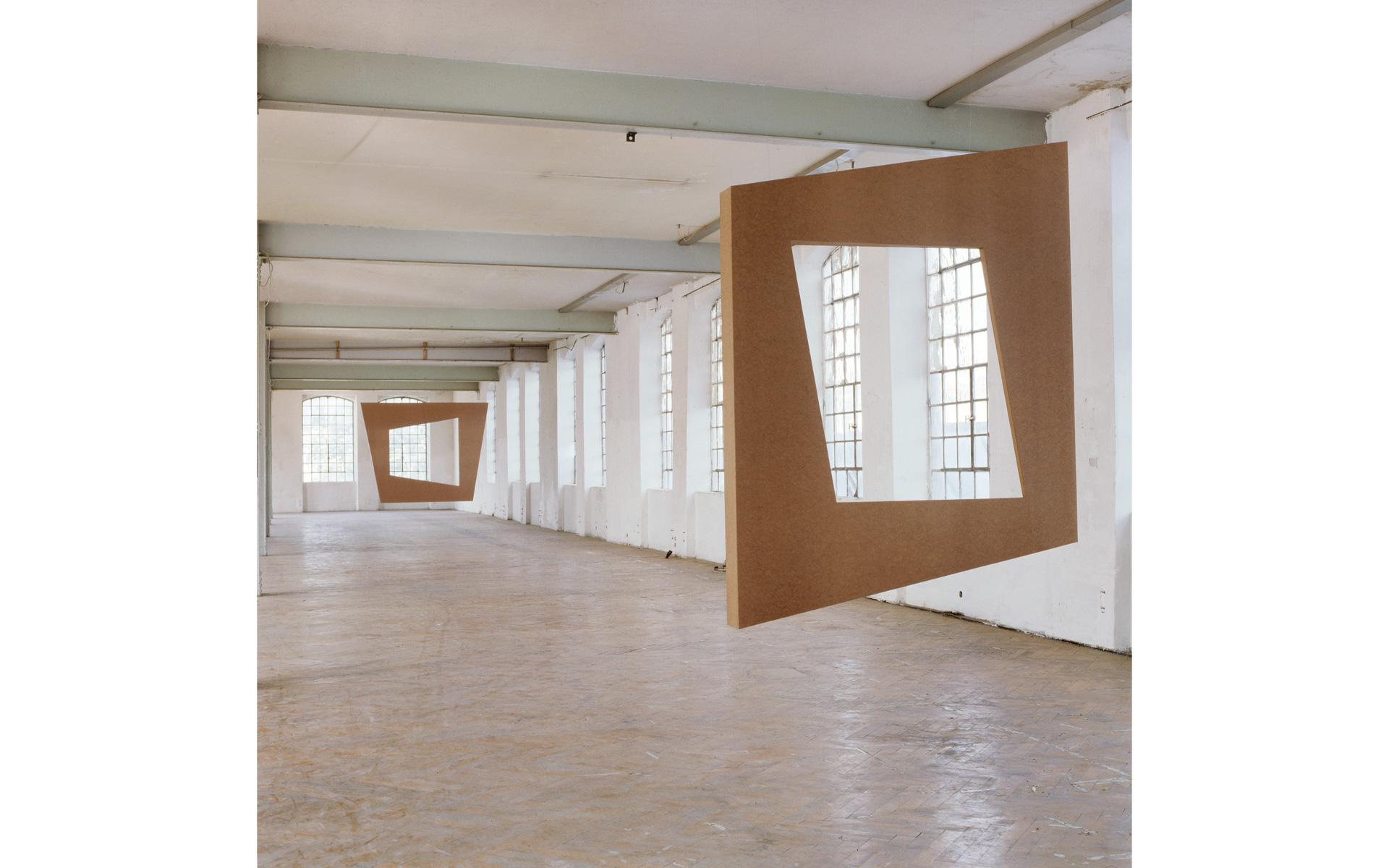 Installation view Kunstraum Göppingen, 1990 - Photo: Christoph Valentien