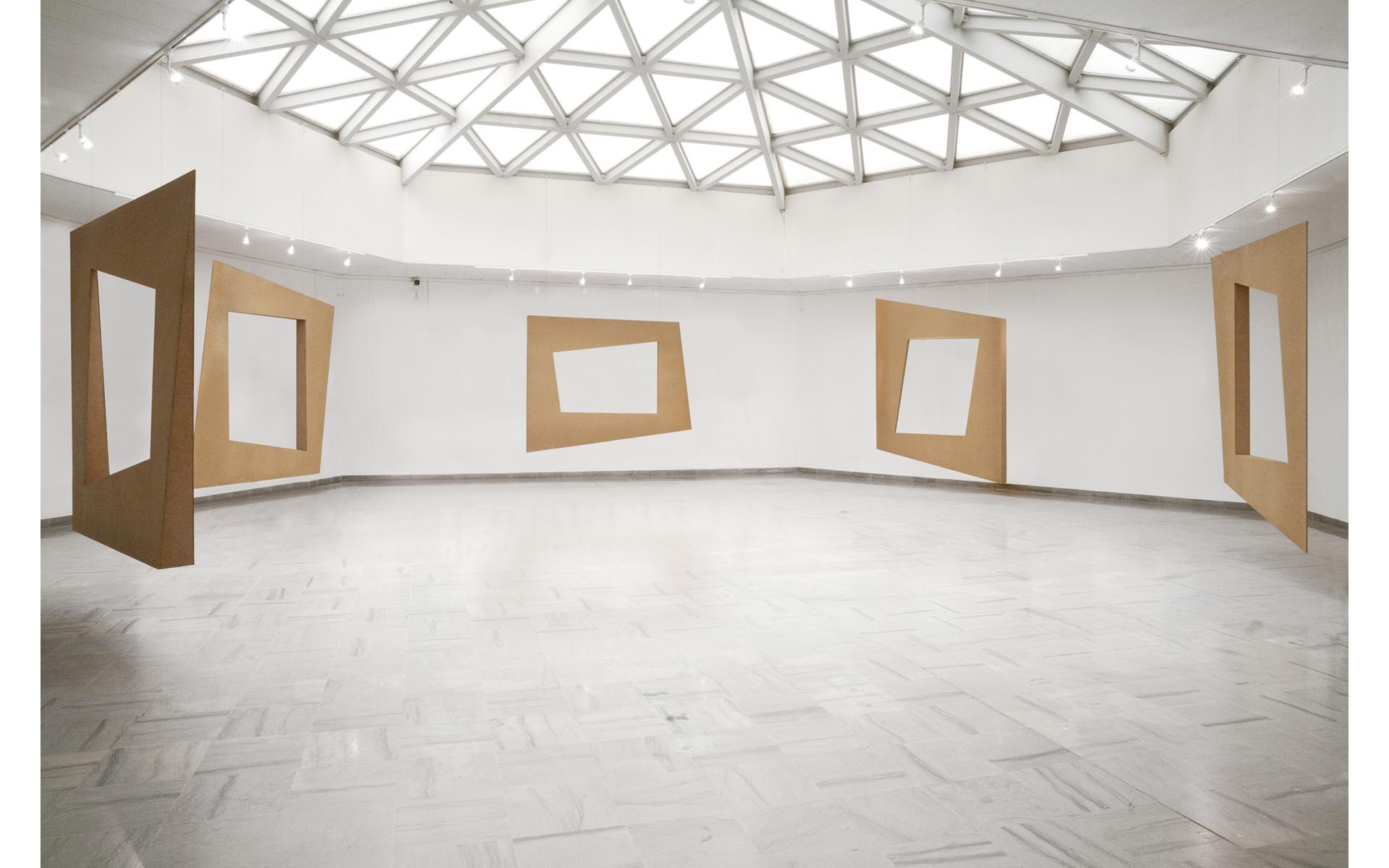 Installation view Fondation Vasarely, Aix-en-Provence, 2011