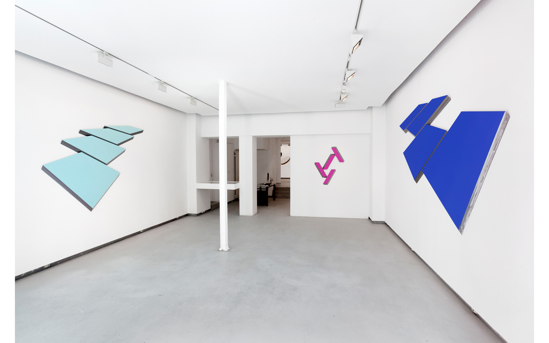 Installation view Gallery Denise René, Paris, 2014