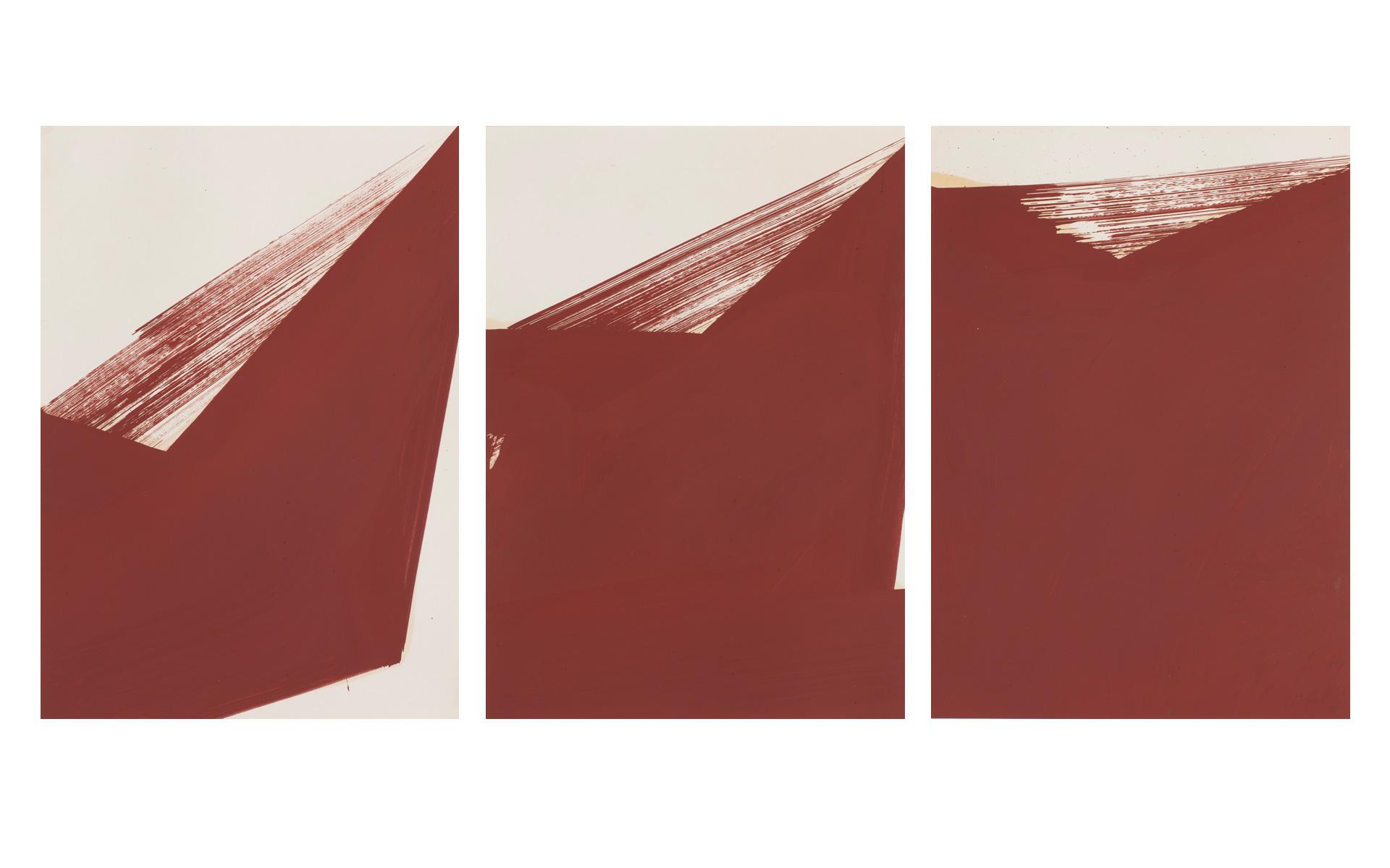 each O. T., 1990 Oil on paper 29.7 × 21 cm - Photos: Christoph Valentien