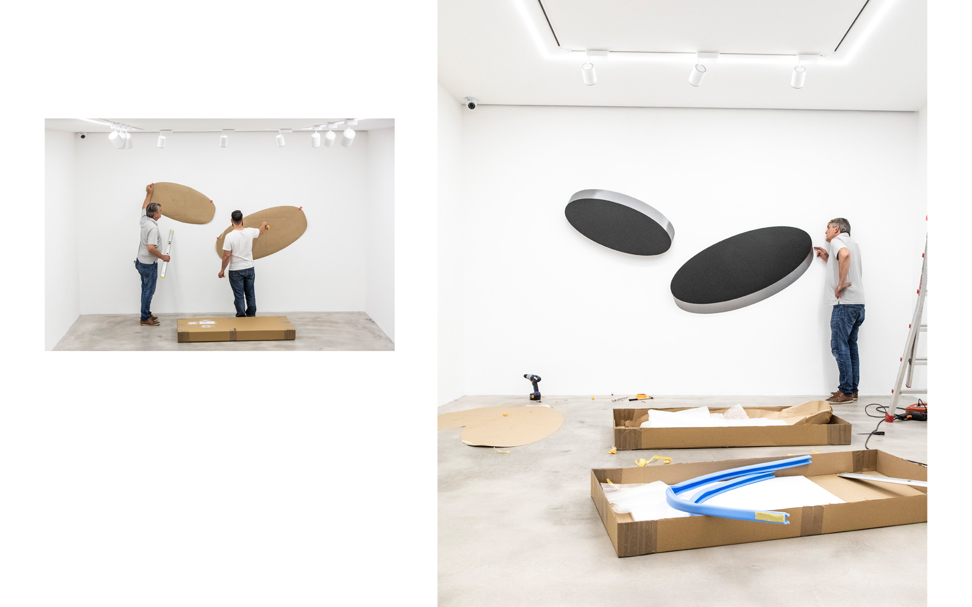 Installation views Gallery DEP ART, Milano, 2018 - Photos: Fabio Mantegna