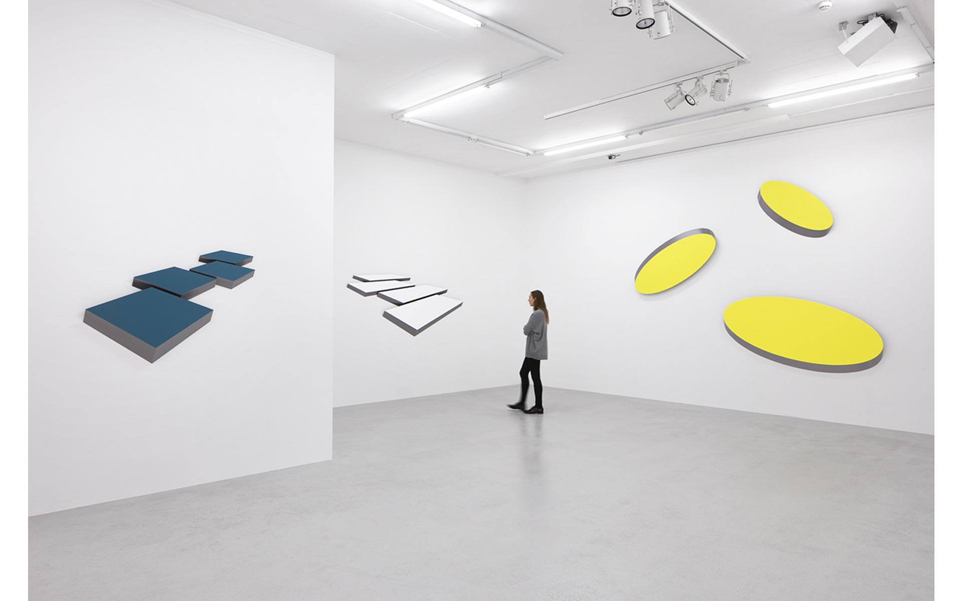 Installation view Gallery Lange + Pult, Zürich, 2018 - Photo: Sully Balmassière